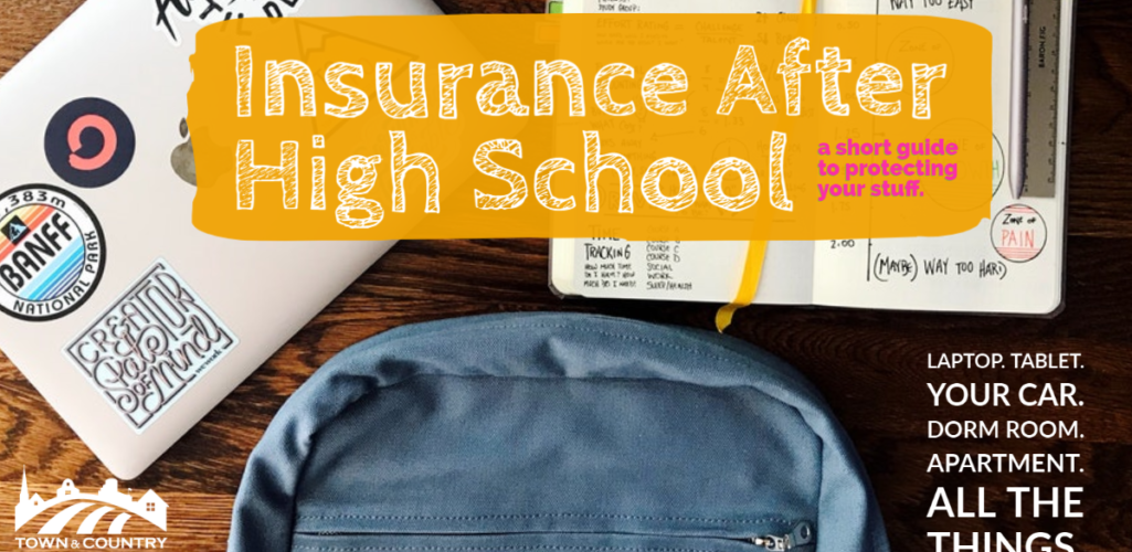 Insurance After HS – A Short Guide To Protecting Your Stuff