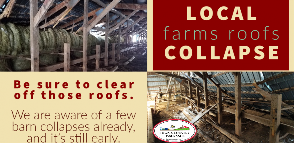 PSA: Roof Collapse At Local Farms