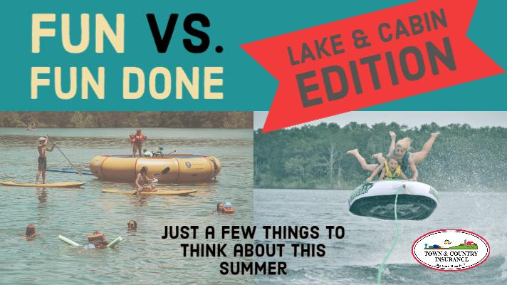 Fun At The Lake (and Cabin)