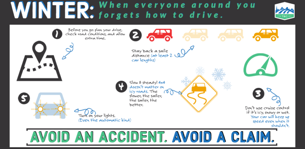 Avoid Auto Claims This Winter